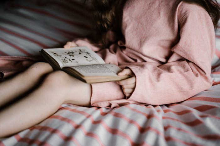 Technology replacing books for bedtime stories